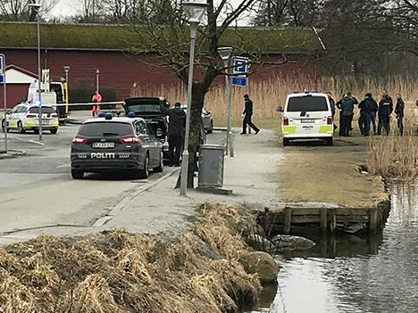 Væbnet røveri mod Danske bank i Hobro
