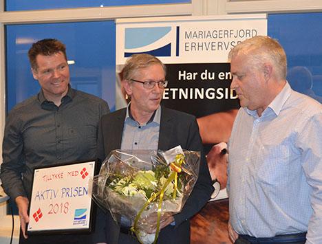 Aktiv Prisen i Mariagerfjord 2018 – vinderen er Kenneth Jensen, Beierholm