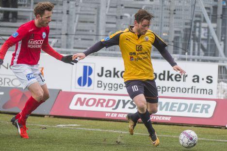 Hobro måtte nøjes med et point mod Silkeborg