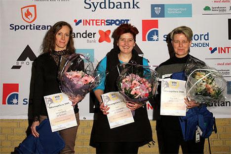 Udøvere fra AIF gymnastik blev hyldet ved award-show