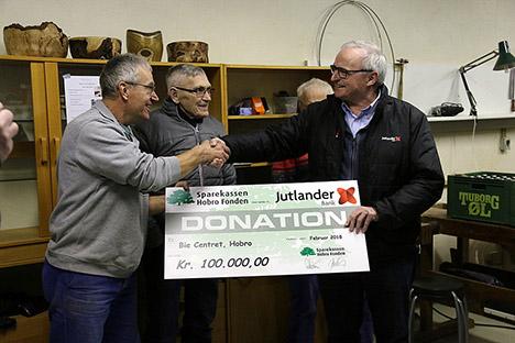 Sparekassen Hobro Fonden uddelte igen mange penge til foreninger