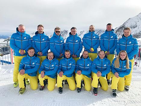 """270 medlemmer i skiskole med """"Bananaboys"""""""