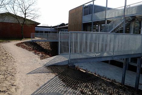 Områderne omkring ny skole i Arden tager form