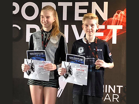Micki Skov Søndergaard fra Hadsund Badmintonklub er Danmarksmester