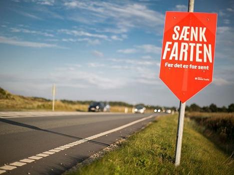 For høj fart skyld i mange ulykker