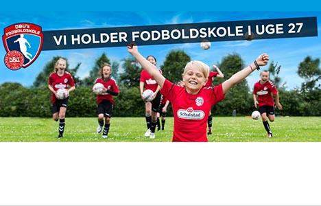 DBU fodboldskole Hadsund er lige om hjørnet