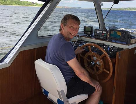 John Børge på 56 år fejrer 40 års jubilæum hos KEW/Nilfisk Alto