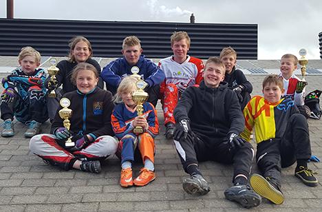 BMX sæsonen er for alvor gået i gang i Hadsund