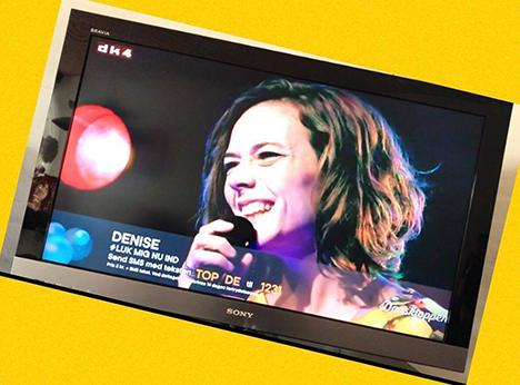 Denise håber på at ramme `Toppen af Dansk Musik`
