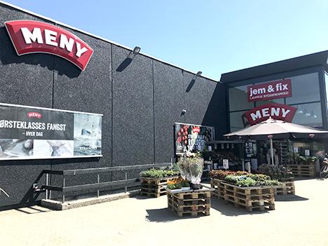 Hobro er i udvikling og vores MENY-butik skal følge med
