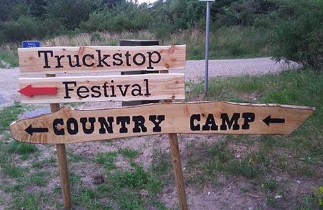Denne weekend er der country festival i Øster Hurup