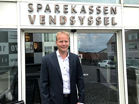 Spot på en medarbejder, Brian Kristiansen Regionsdirektør i Sparekassen Vendsyssel