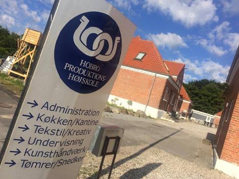 Åbent Hus & Sommermarked på Hobro Produktionshøjskole