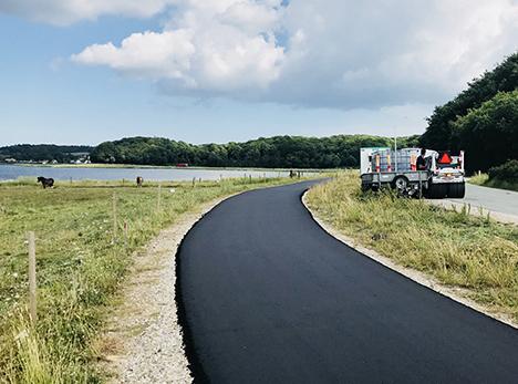 Nu kommer cykelstien mellem Assens og Mariager | Måske Danmarks smukkeste cykelsti