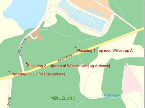 Så blev placering af cykelrasteplads ved Arden-Astrup vedtaget