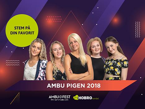 Du afgør hvem der bliver årets AMBU pige 2018   Se de 5 kandidater