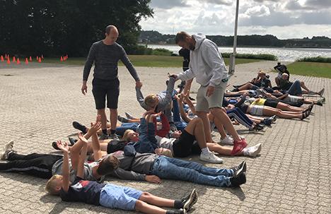 Træningssamling i Hadsund Roklub med personlig udvikling og samarbejde i fokus