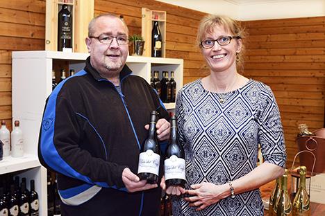 Lokal vinhandler støtter nyt  børnehospice med egne vine