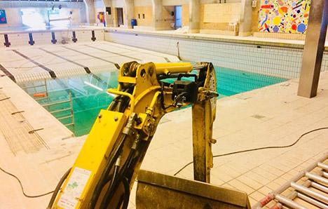 Hobro Svømmeklub renoverer bassinet