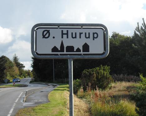 Bekymring omkring trafiksikkerheden i og omkring Øster Hurup bymidte
