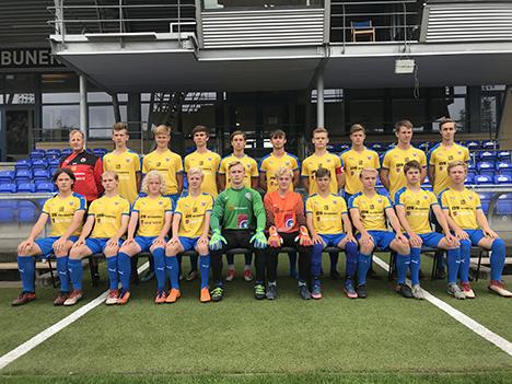 U17 Drenge Liga 2 sluttede en forrygende sæson med et Jysk Mesterskab.