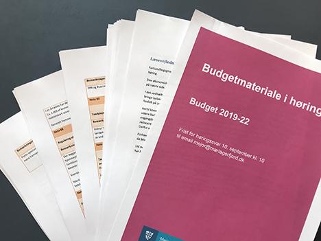Mariagerfjord Kommune har modtaget mere end 1000 sider med høringssvar