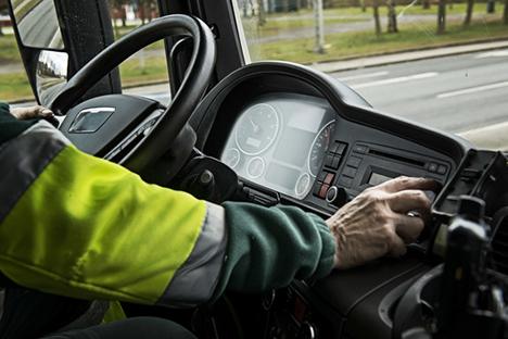 Hver 6. erhvervschauffør kigger på mobilen