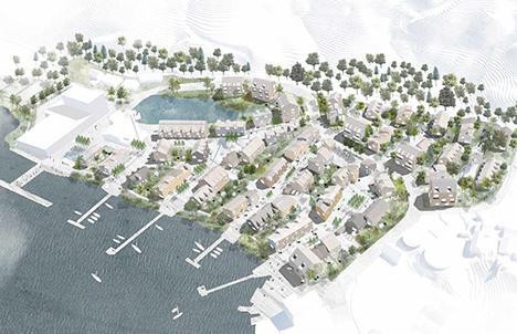 Bebyggelsesplan for et nyt boligområde i Hobro | Ny Blaakilde