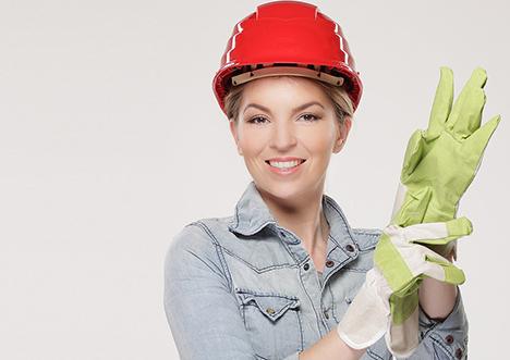Flere kvinder vil være murere, tømrere og maskinsnedkere