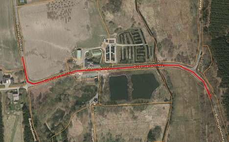 Buderupholmvej spærres i morgen søndag