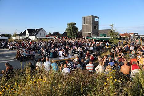 Sten Andersen og Det Gode Liv i Øster Hurup udstiller fotos