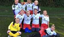 Fyrkat Q U12 pigerne sejrede i efterårets sidste kamp