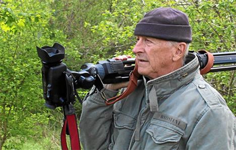 Hans Flou viser film om Kilder ved Mariager Fjord og Slotte og herregårde i Østhimmerland – natur og kultur