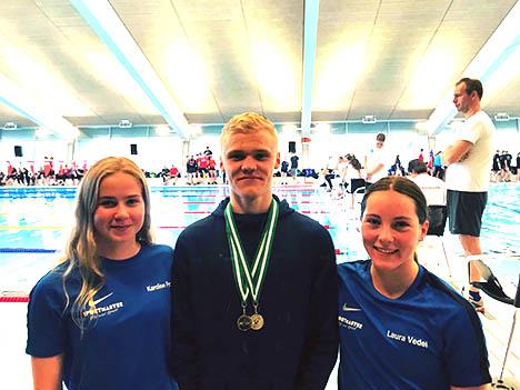 Nykåret Vest Dansk Juniormester i Hobro Svømmeklub