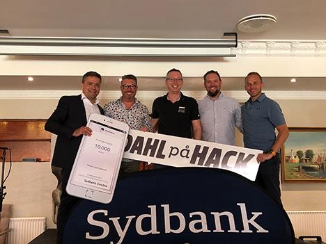 Sydbank Hobro gav støtte til lokale løbe-ildsjæle