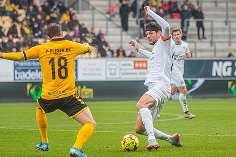 Snævert nederlag til Hobro IK i Horsens