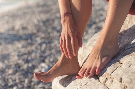 Sådan passer du på dine fødder