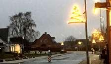 I Øster Hurup er der juletræstænding den 1. december