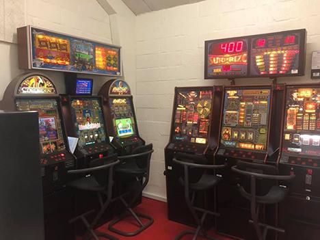 Havnegrillen har fået spillemaskiner