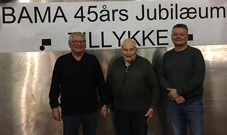 45 års jubilæum hos BAMA i Hadsund