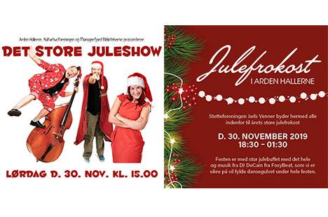 Brag af et juleshow i Arden-Hallerne