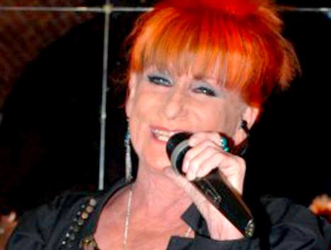 Susanne Lana synger i Mariager