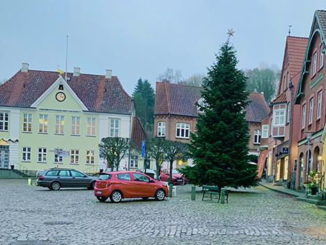 Forskud på julen i rosernes by Mariager