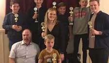 Klubmestre fejret på årets afslutningsfest i Hadsund Motor Klub