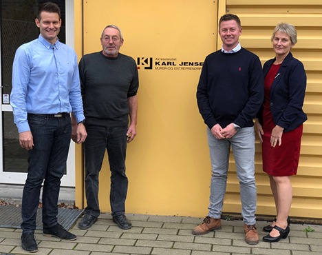 A/S Karl Jensen sikrer en spændende fremtid med planlagt generationsskifte