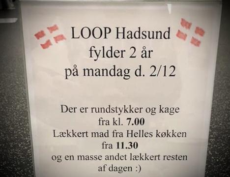 LOOP Fitness Hadsund fylder 2 år