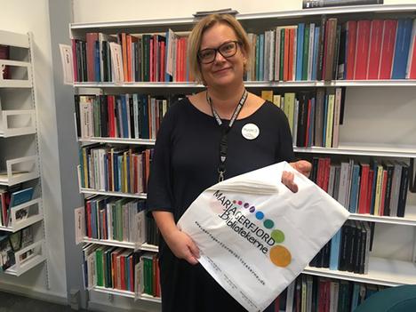Slut med plastikposer på Mariagerfjord Bibliotekerne