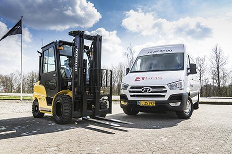 Dansk Materiel Service A/S har d. 1. december 10 års jubilæum