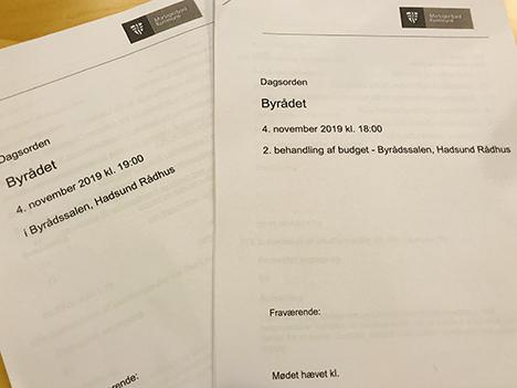 Samtlige byrådsmedlemmer i Mariagerfjord stemte for budget 2020 ved 2. behandlingen