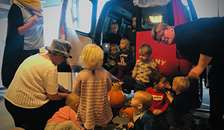 Forsinket Halloweenfest hos Dagplejen Hobro Syd